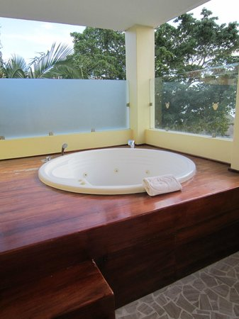 The Royal Suites Punta de Mita:                   Jacuzzi on Master Suite deck at Royal Suites
