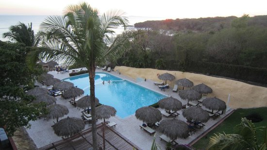 The Royal Suites Punta de Mita by Palladium:                   View of pool taken from Master Suite