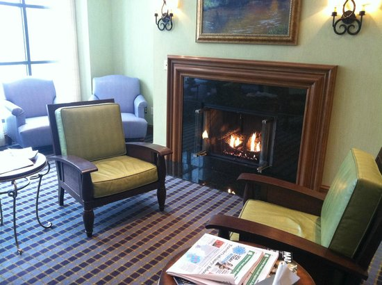 The Lodge at Woodloch:                   womens lounge