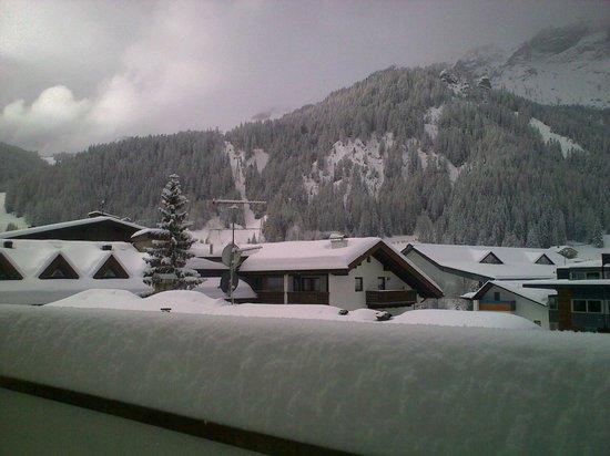 Hotel Italia :                   Blick von unserem Balkon