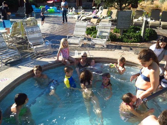 The Westin Kierland Resort & Spa:                   Hot tub in family pool area; usually jammed!