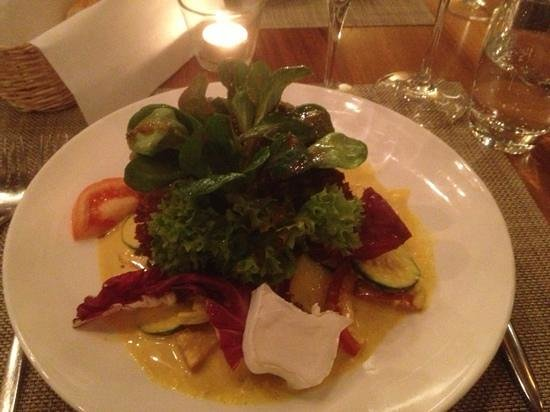 Salat 2 picture of mere catherine zurich tripadvisor for Seafood bar zurich