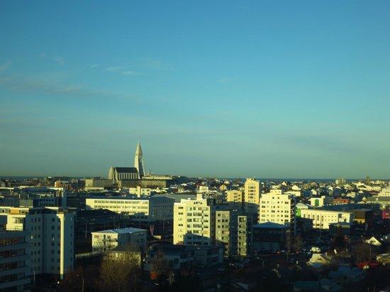 Grand Hotel Reykjavik:                   Вид из номера