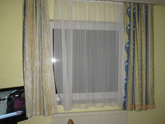 Albatros Airport Hotel:                   Curtains