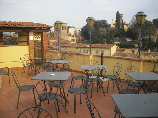 Hotel Restaurant La Scaletta: Roof top terrace