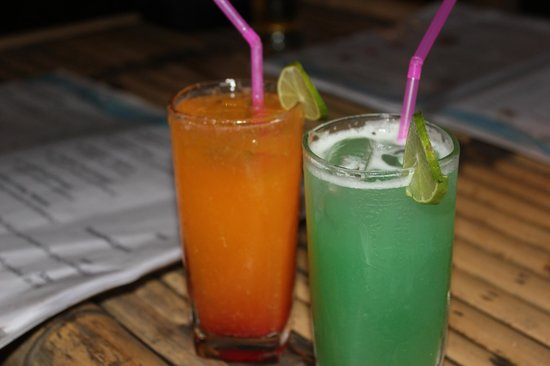 The Secret Cove Restaurant:                   Cocktails