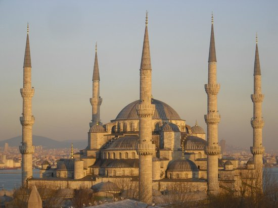 Lady Diana Hotel: Blue Mosque