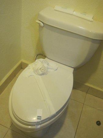 BlueBay Grand Esmeralda: Our bathroom!