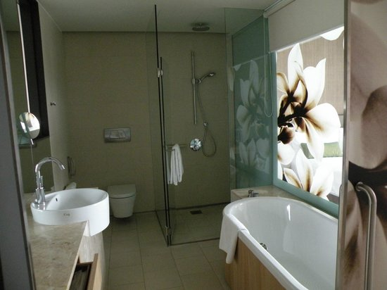 Crowne Plaza Changi Airport:                   Bathroom 809