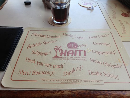 Haiti: Thank you!