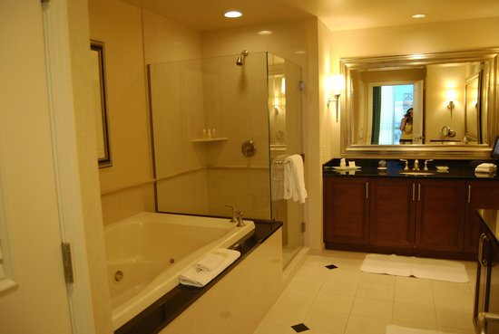 Signature at MGM Grand : The large bathroom