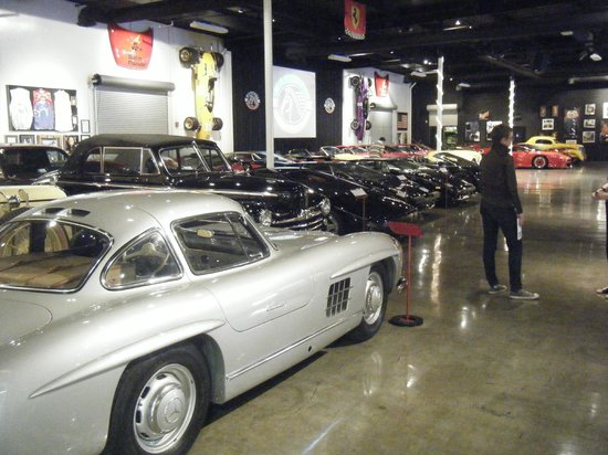 Marconi Automotive  Museum: Large room full of cars.