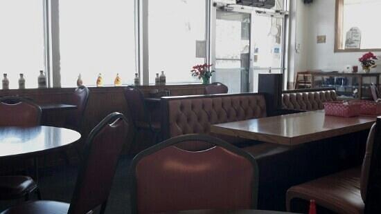 Harbor View Cafe:                   Inside
