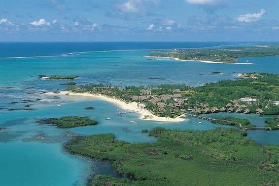 Constance Le Prince Maurice: Aerial View