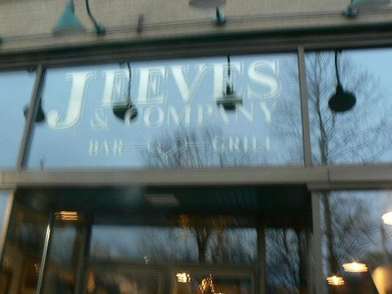 Jeeves & Co: Front of our building