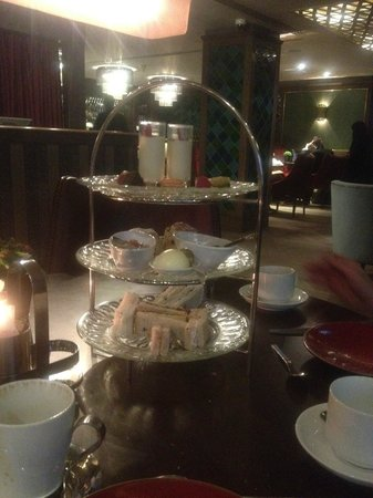 Quince:                   Not so indulgent afternoon tea