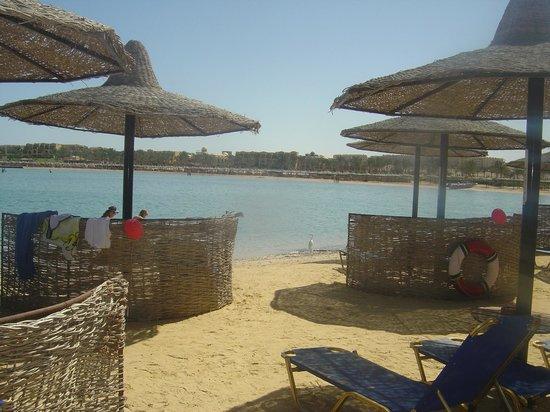 Steigenberger Coraya Beach:                   Stranden