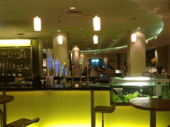 Hilton London Canary Wharf:                   this is the Bar and Restrant