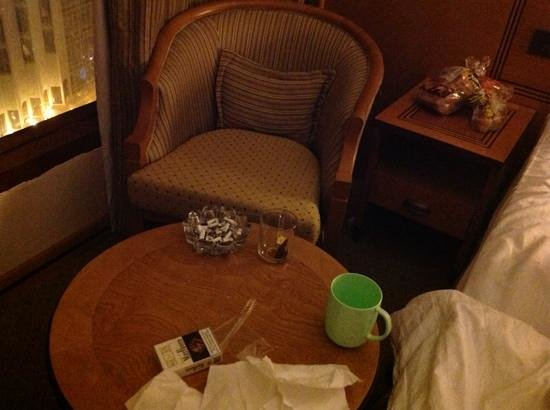 Elaf Al Multaqa:                                     this is how the room looked when we checked in