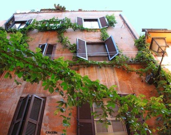 Hotel Residenza San Calisto: Rome view of trastevere