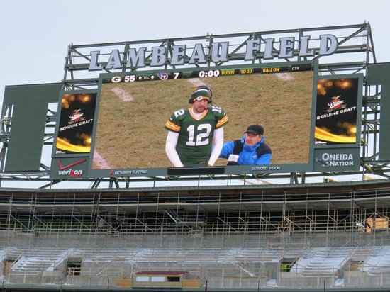 Holiday Inn Green Bay Stadium:                   Go Pack Go !!!