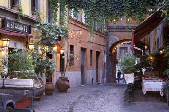 Trastevere in Rome streets - Picture of Hotel Residenza San Calisto, Rome - TripAdvisor