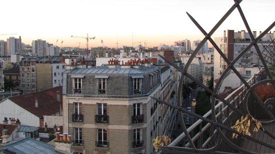 """Hotel Saint Charles:                   Vista da """"varanda"""""""
