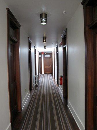 Commodore Hotel:                   hallway