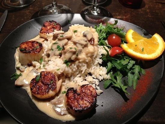 Instants Gourmands : noix de saint Jacques poêlées