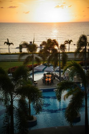 Thunderbird Resorts Poro Point:                   Sunset
