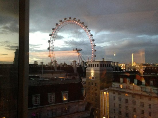 Park Plaza Westminster Bridge London:                                     View from room ...