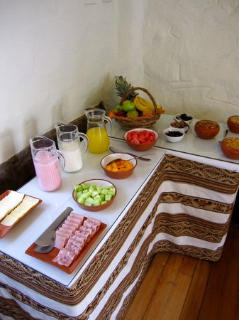 Unaytambo Hotel:                   Breakfast buffet