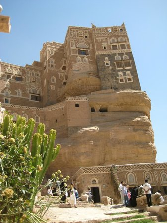 Sanaa, Jemen:                   Palace on the rock