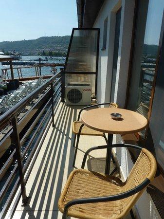 Hotel Apolodor: the balcony