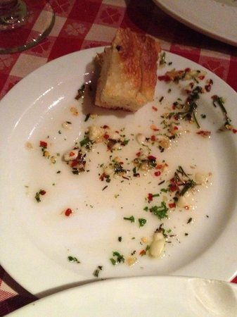 Pazzo:                   Bread and Dipping Sauce