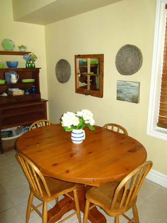 Traditions Guest House:                   Summer Kitchen in guest area