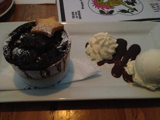 Lone Star Takapuna:                                     Jack Daniels Chocolate Pudding