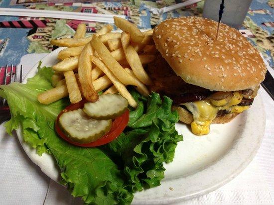 Blondie's Diner: Blondie's Burger