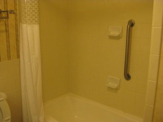 Hampton Inn Ft. Lauderdale Plantation: Bathtub