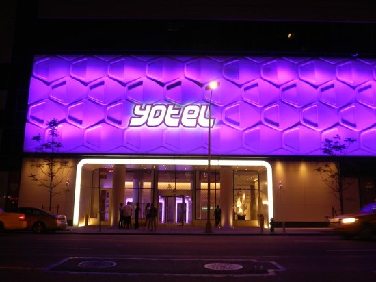 YOTEL New York:                   From the street