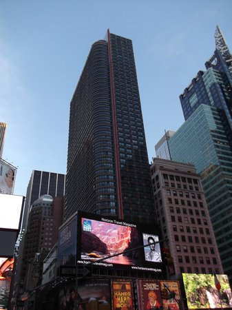 DoubleTree Suites by Hilton Hotel New York City - Times Square:                                     outside view of hotel