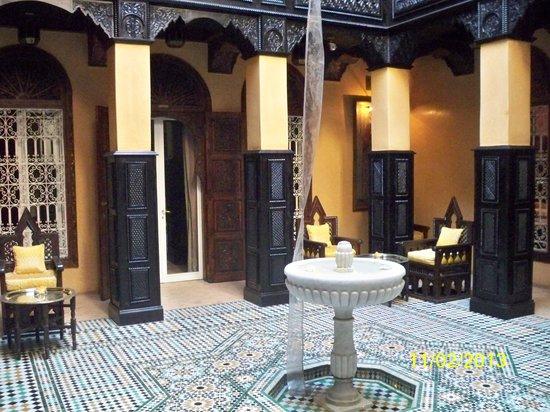 La Sultana Marrakech :                   Uno de los cinco ryads del hotel