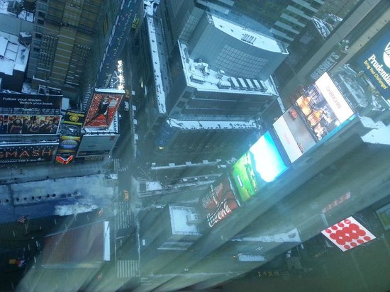 DoubleTree Suites by Hilton Hotel New York City - Times Square:                                     day view from bedroom