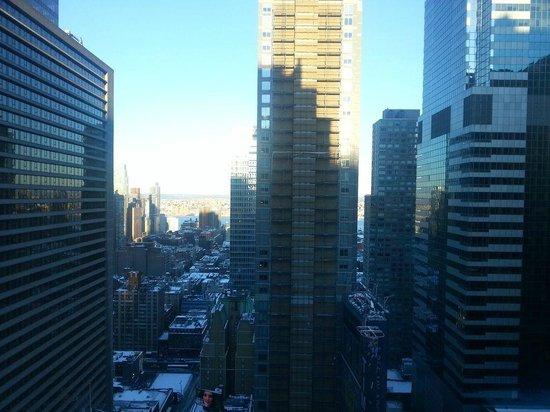 DoubleTree Suites by Hilton Hotel New York City - Times Square:                                     view to hudson river