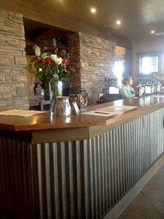 Silvara Vineyards:                                     Wine bar at Silvara Winery