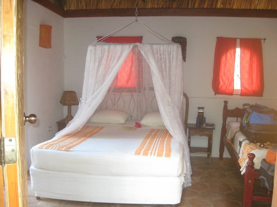 San Simian Eco Lodge: our room