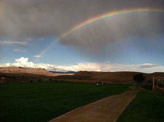 Sky Mountain Golf Course:                   summer rain at sky mountian