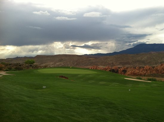 Sky Mountain Golf Course:                   View as i finish my round!