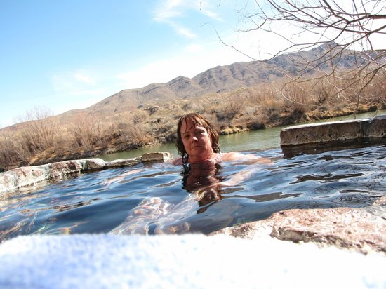 Riverbend Hot Springs:                   Private Tub #2