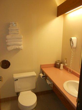 Badger Hotel: Bathroom